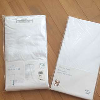 New Flat Cot Sheets (100% Cotton) John Lewis