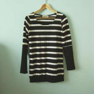 $5mailed Stripe Top