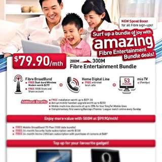 Singtel Fibre Broadband