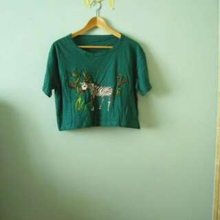 $4mailed Holiday Crop Top #2