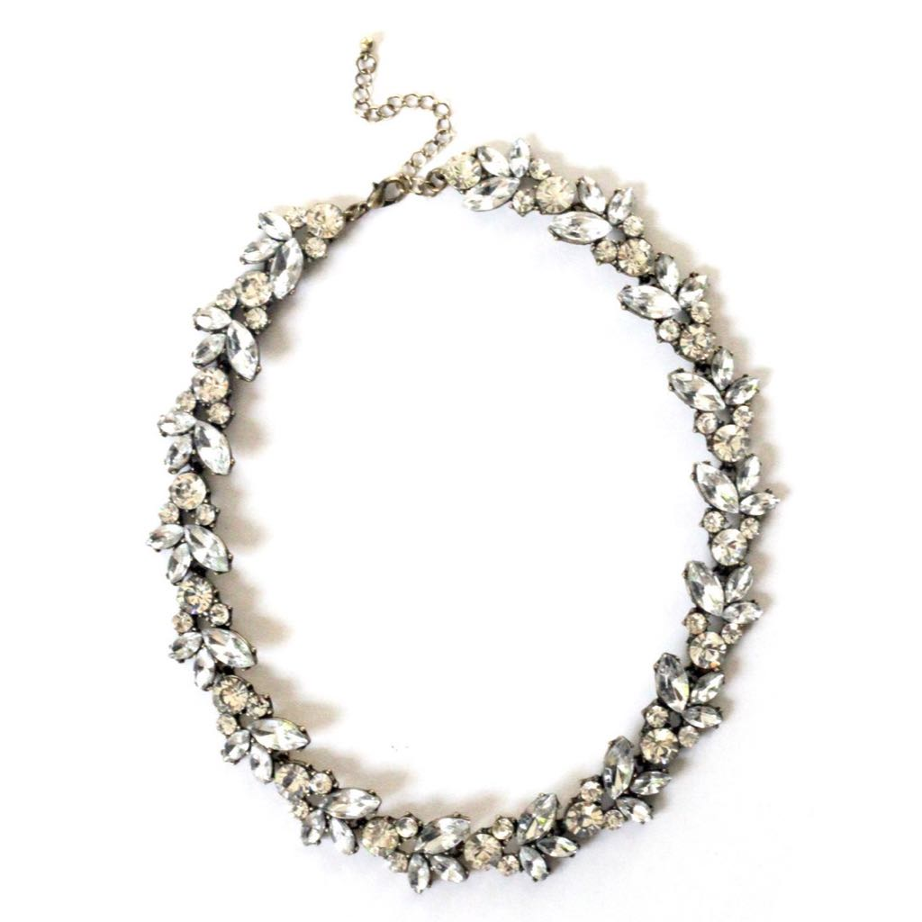 BN Crystal Statement Necklace