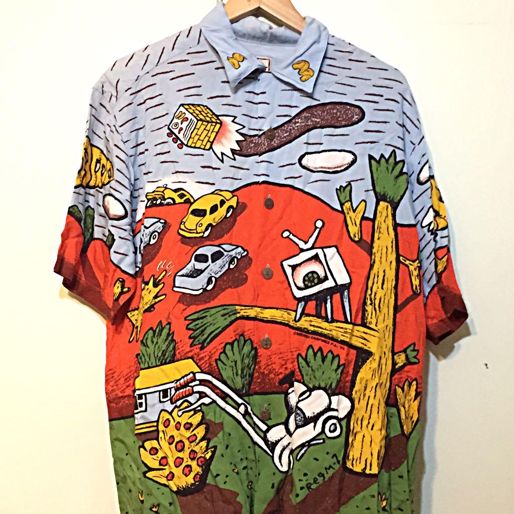 Rare And Collectible Mambo Loud Classic Hawaiian Shirt Men S