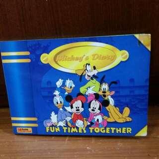 Kodak Mickey's Diary