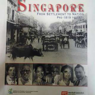 History Sec 1/2 Textbook, Geography Sec 2 TEXTBOOK AND WORKBOOK,  Math Workbook( Can Use As ASSESSMENT BOOK TOO)