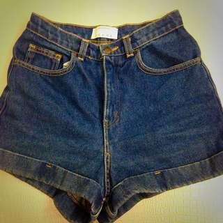 2⃣✋American Apparel 高腰牛仔褲👙單寧必備