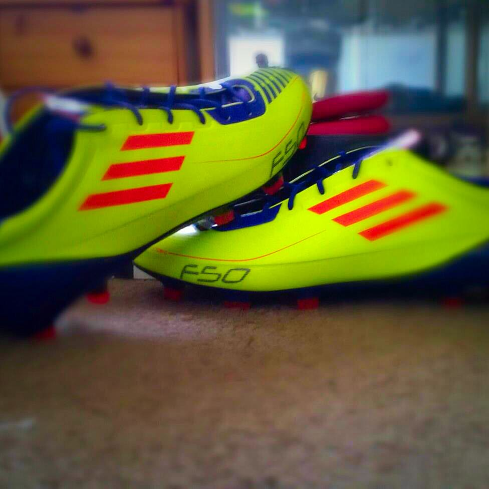 (RESERVED) Adidas F50 Adizero Boots