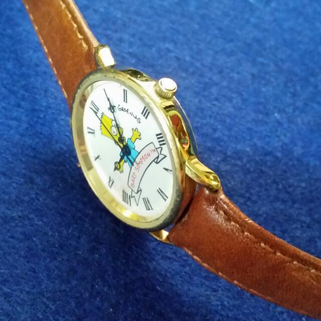 Bart Simpson Swiss Quartz Watch
