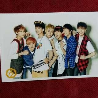 Got7 OT7 Pure Season 2 Photocard ( Official )
