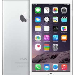 Iphone 6 Plus Silver 64GB Brand New
