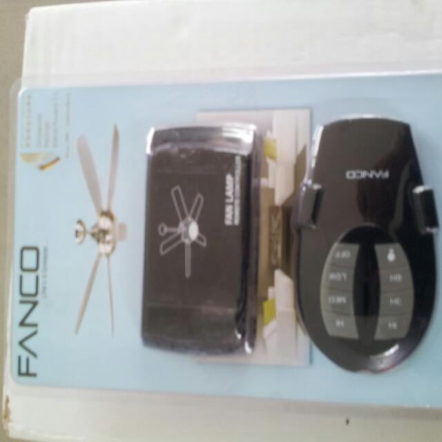 Fanco Remote Control For Ceiling Fan Brand New Set Ready Stock Furniture On Carou