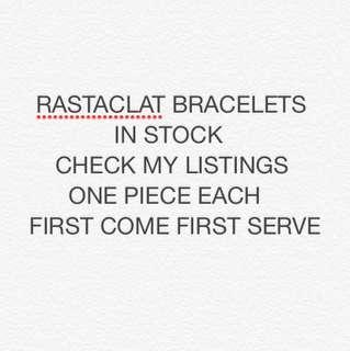 RASTACLAT BRACELETS IN STOCK