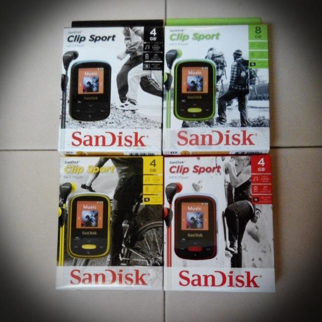 New Sandisk Sansa Clip Sport 4GB/8GB MP3 DAP Playerl Best