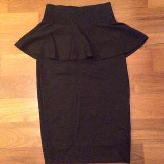 (Pending) Perplum High Waisted Pencil Skirt