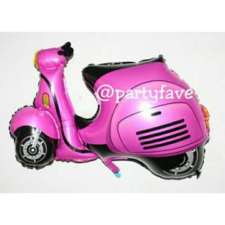 Scooter Motorcycle Balloon - Balon Bentuk Motor Vespa