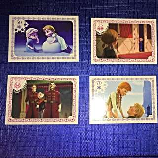 Frozen Activity Cards - Trades