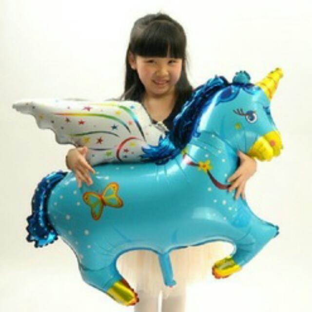 Baby Unicorn Balloon - Balon Kuda Unicorn