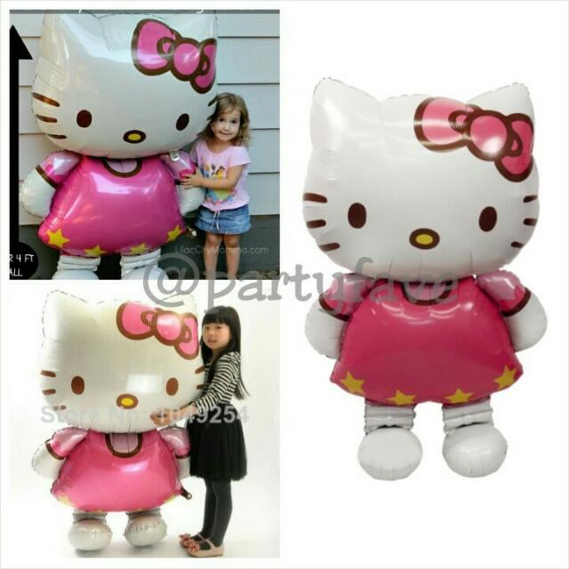 Giant Hello Kitty Balloon - Balon Helo Kitty Besar