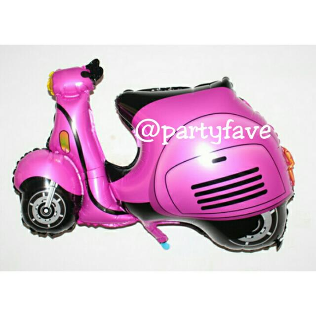 Scooter Motorcycle Balloon - Balon Bentuk Motor Vespa