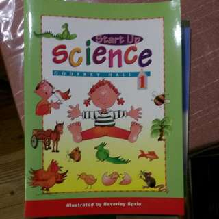 START UP SCIENCE FOR KIDS
