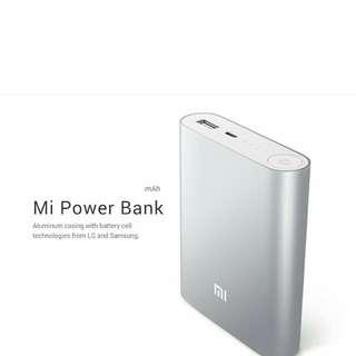 Authentic Brand New Mi Power Bank . 10400mAh