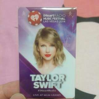 Limited Edition Taylor Swift MGM GRAND Hotel Door Key (Brand New)