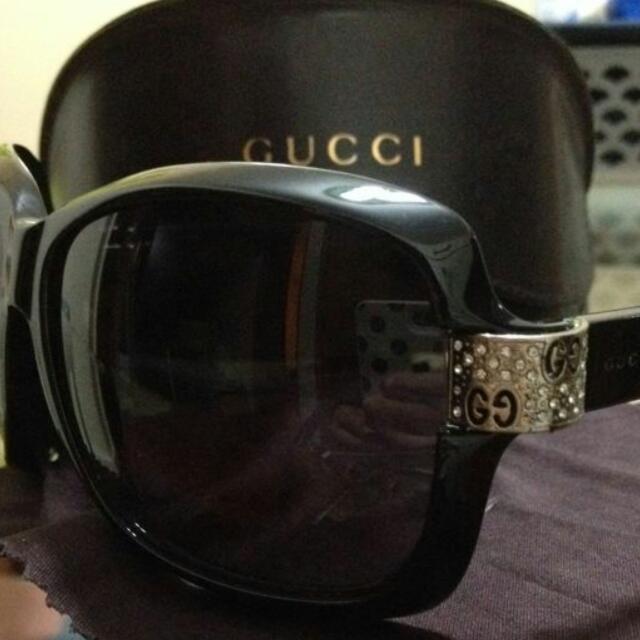 c41b77b34 Authentic Gucci Diamante Sunglasses , Electronics on Carousell