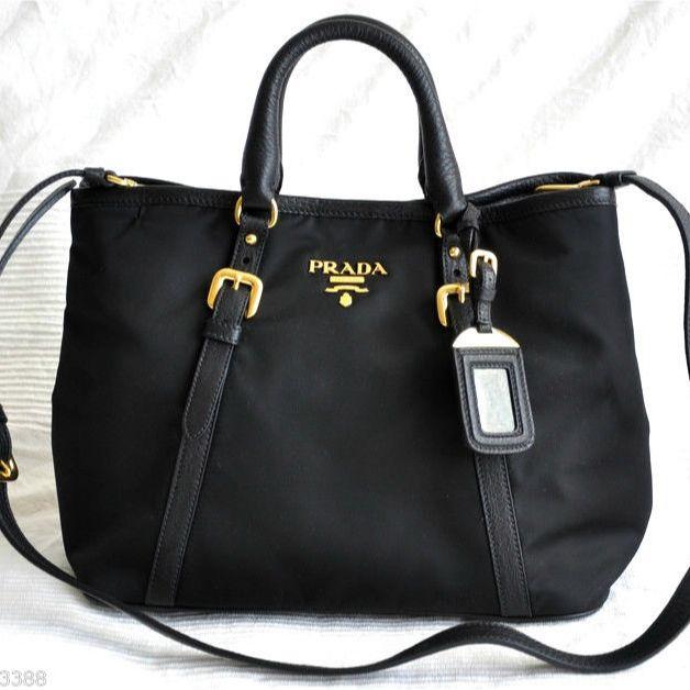 1e4955146149 SOLD  🌲BRAND NEW ~ PRADA Bauletto Aperto Convertible Bag  BN1841 ...