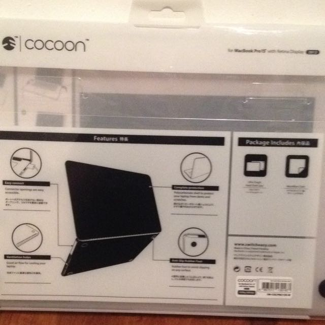 SwitchEasy Cocoon For MacBook Pro 15