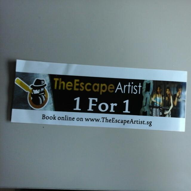 TheEscape Artist 1 For 1!! (Pending)