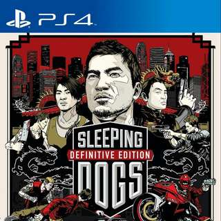 PS4 Sleeping Dogs Definitive Edition (Artbook Casing)