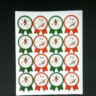 Christmas Label Stickers