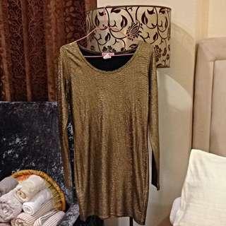 Supre Gold Dress