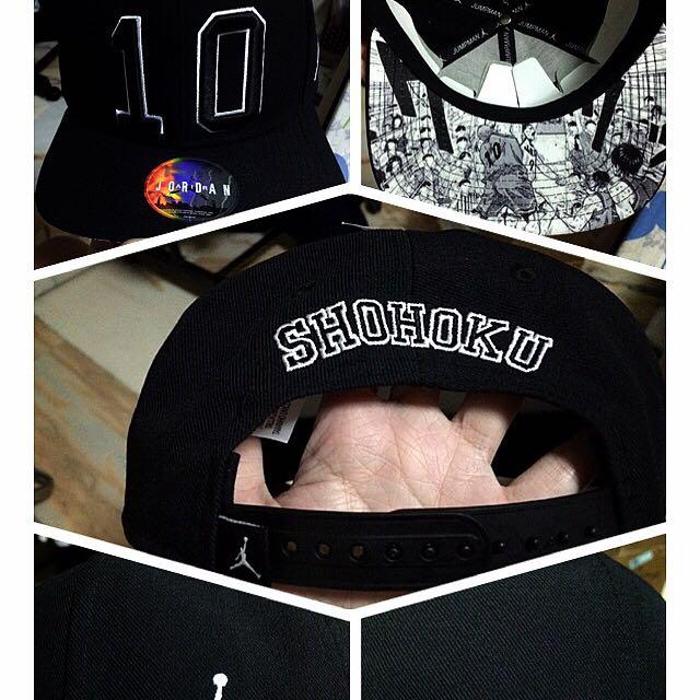 Jordan x Slam dunk Snapback Cap Hat 3be79aaee1b