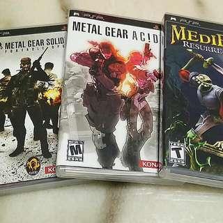 Bundle Of 3 PSP Games