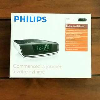 BNIB Philips Radio /Alarm