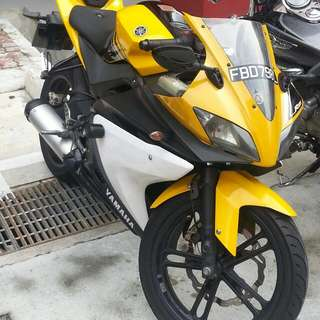 *Adjusted Price* Yamaha YZF R125