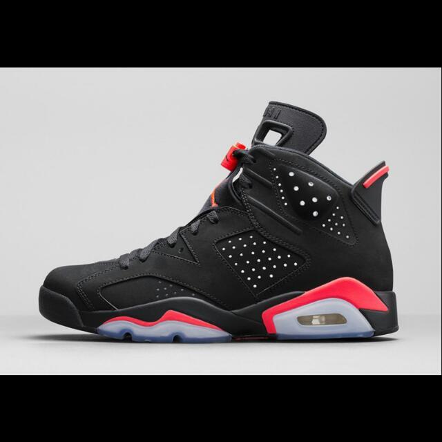 """(CLOSED) Air Jordan 6 Retro """"BLACK INFRARED"""" Pre Order"""