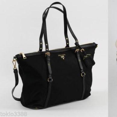 c2a45b23d4e222 BRAND NEW ~ PRADA Tessuto Nylon Shopping 2-Way Tote BR4253, Luxury ...