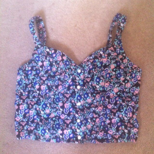 H&M Floral Bralet