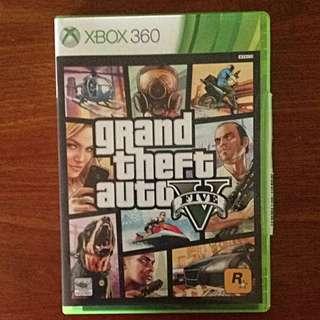 Grand Theft Auto Five [GTA5] Xbox 360 [LEFT TWO COPIES]