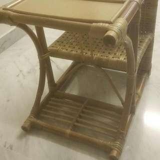 Handmade Rattan Baby Seat