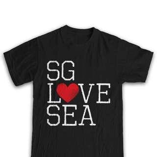 SG LOVE SEA T-shirt