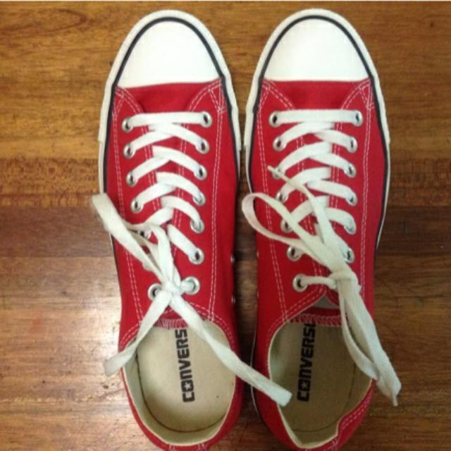 f8bf0f694edc BNIB Authentic Converse Sneakers. Red. UK Size 9. Men Size 9. Women ...