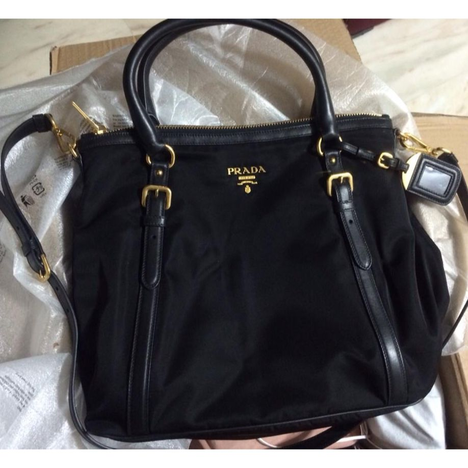849863be87ea ... norway brand new prada tessuto 2 way bag br5116 luxury on carousell  43724 9ad23