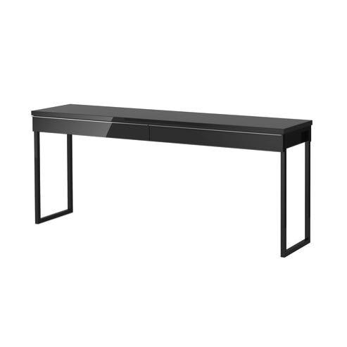 IKEA BESTA BURS DESK BLACK Furniture On Carousell