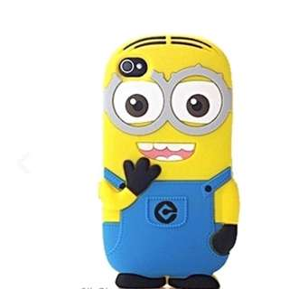 iPhone 4s Minion Rubber Casing