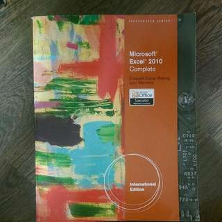 Microsoft Excel 2010 Textbook