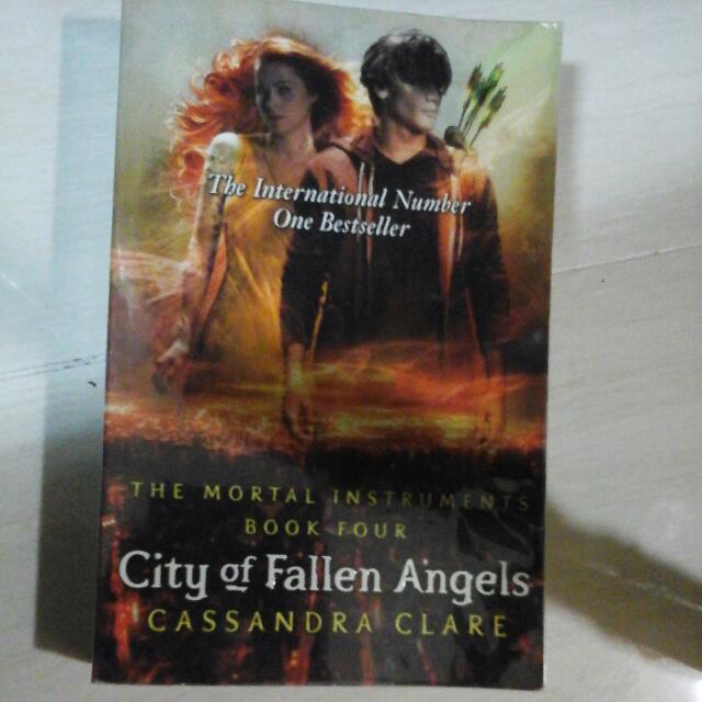 City Of Fallen Angels Book