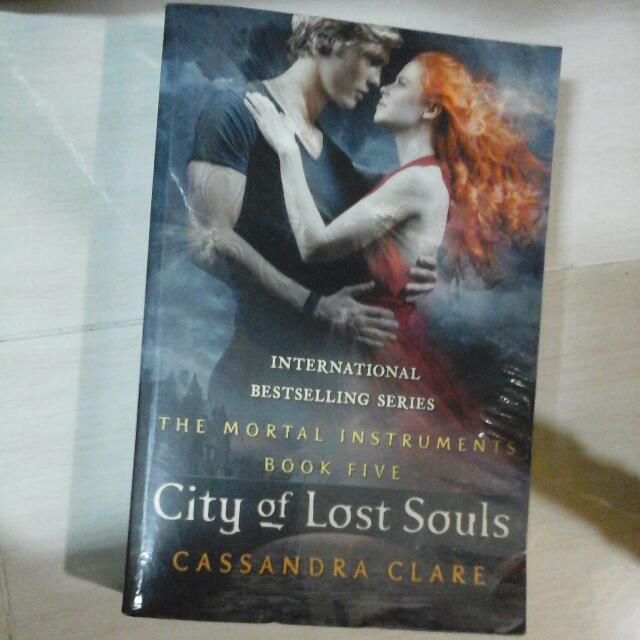City Of Lost Souls Book