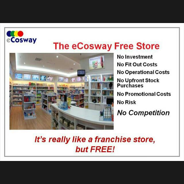 cosway franchise